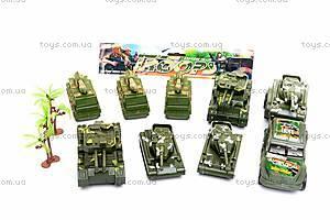 Набор военной техники, с танками, 1658-1C