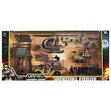 Набор военной техники пластиковый, 6635BC, игрушки