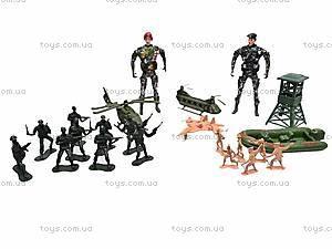 Набор «Военные учения» с солдатиками, 98-AC