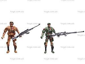 Набор «Военный» с солдатиками, HW-32A3