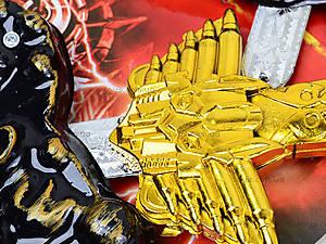 Игровой набор воина «Щиты с мечами», ZW879A, купить