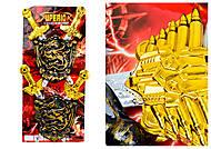 Игровой набор воина «Щиты с мечами», ZW879A