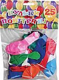 Набор воздушных шаров «Перламутровый», 25 штук, 701489, магазин игрушек