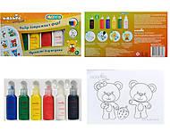 Витражные краски CLASSIC «Пушистые мишки», 98502, купить