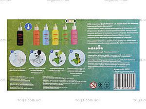 Витражные краски «Веселые динозаврики», 98511, цена