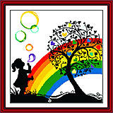 Набор «Яркая радуга» для рукоделия, R075(2), купить