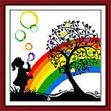 Набор «Яркая радуга» для рукоделия, R075(2), фото