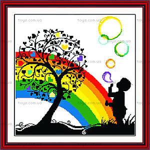 Набор «Яркая радуга» для вышивки крестиком, R075(1)