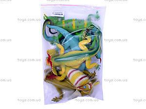 Набор ящериц, A017P
