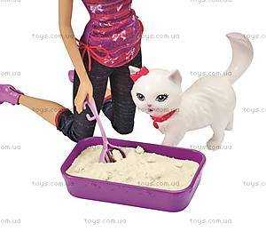 Набор игровой Barbie с котенком серии «Домашние питомцы», BDH76, купить
