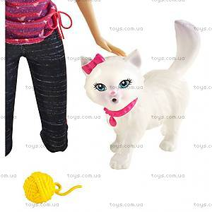 Набор игровой Barbie с котенком серии «Домашние питомцы», BDH76, отзывы