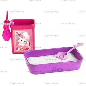 Набор игровой Barbie с котенком серии «Домашние питомцы», BDH76, цена