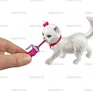 Набор игровой Barbie с котенком серии «Домашние питомцы», BDH76, магазин игрушек