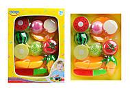 Набор игровой овощей и фруктов, 58079, купить