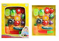 Набор игровой для резки овощей и фруктов, 58080, отзывы