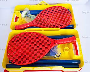 Набор игровой Mookie Tailball с сеткой, 7114MK, магазин игрушек