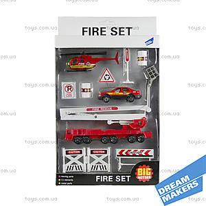 Набор детский игровой «Пожарная служба», JP600