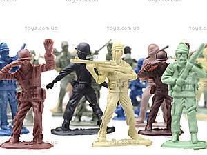 Набор игровых фигурок «Солдатики», 879-F4, магазин игрушек