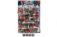 Набор игровых фигурок супергероев на планшете, 869305, отзывы