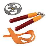 Набор игрушечного оружия Микеланджело «Черепашки-ниндзя», 92103, фото