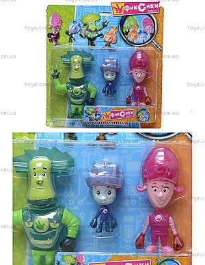 Набор игрушечных героев «Фиксики», 58001