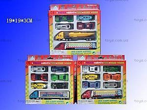 Набор игрушечных моделек «Транспорт», H36044(927W7