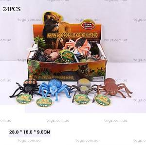 Набор игрушечных пауков, 7427