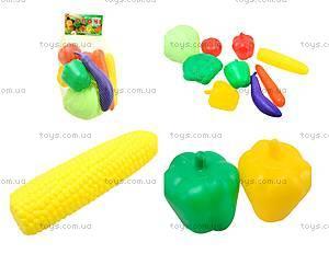 Набор игрушечных продуктов «Овощи»,