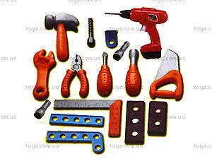 Набор игрушечных инструментов, для детей, 661-74, купить