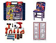 Набор игрушечных инструментов, для детей, 661-74, фото