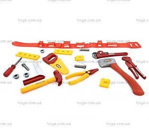 Набор игрушечных инструментов «Столяр», 0718-6