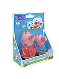 Набор игрушек-брызгунчиков PEPPA «Чистюля или грязнуля», 30219, фото