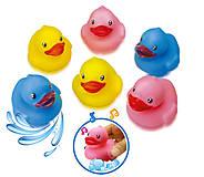 Набор игрушек для купания «Яркие утята», 57086, фото