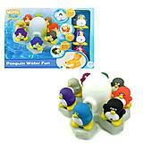 Набор игрушек для ванной «Пингвины», 23003, отзывы