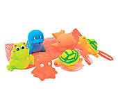 Набор игрушек для ванны «Морские обитатели», 9004, фото
