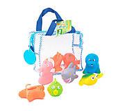 Набор игрушек для ванны «Подводный мир», 9005, фото