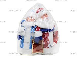 Набор игрушек под елку «Дед Мороз и Снегурочка», B010B011, отзывы