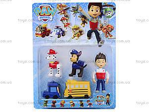 Набор игрушек из мультфильма «Щенячий патруль», 895159, фото