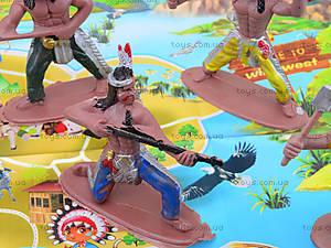 Детский игровой набор «Индейцы», 7077-85, детские игрушки