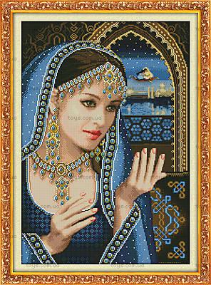 Набор «Индийская красавица» для вышивки, R261