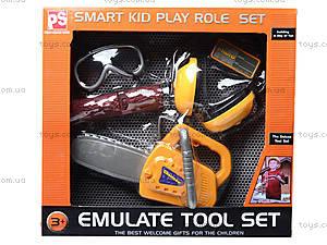 Игрушечный набор инструментов для детей, 2035, фото