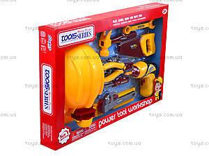 Детский игровой набор инструментов, 0717-1, фото