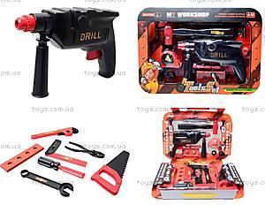 Набор игрушечных инструментов с дрелью, 2033B2