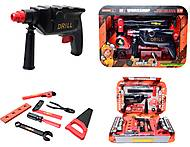 Набор игрушечных инструментов с дрелью, 2033B2, отзывы