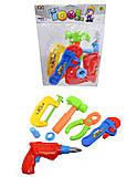 Игровой набор инструментов для мальчиков, 238-5A-6A, отзывы