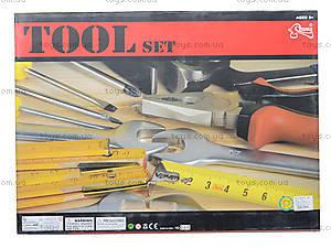 Набор инструментов для детей с каской, T200, фото