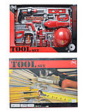 Набор инструментов для детей с каской, T200