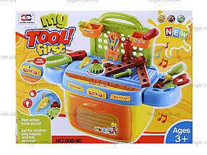 Набор инструментов для детей с музыкальными эффектами, 008-90, отзывы