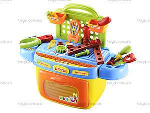 Набор инструментов для детей с музыкальными эффектами, 008-90, игрушки