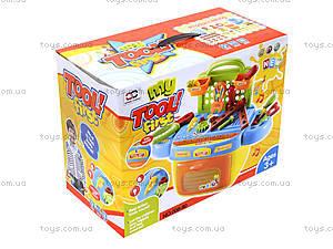 Набор инструментов для детей с музыкальными эффектами, 008-90, магазин игрушек